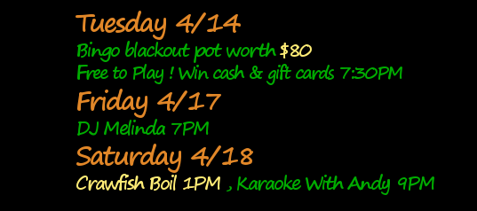 Blackout Bingo pot worth $190 Tuesday, Free to Play! Musician Chip Castro